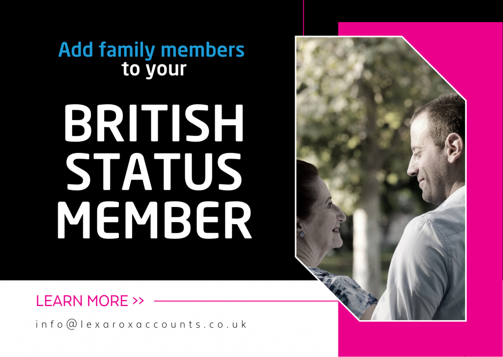 Add your family members to your British Settled Status