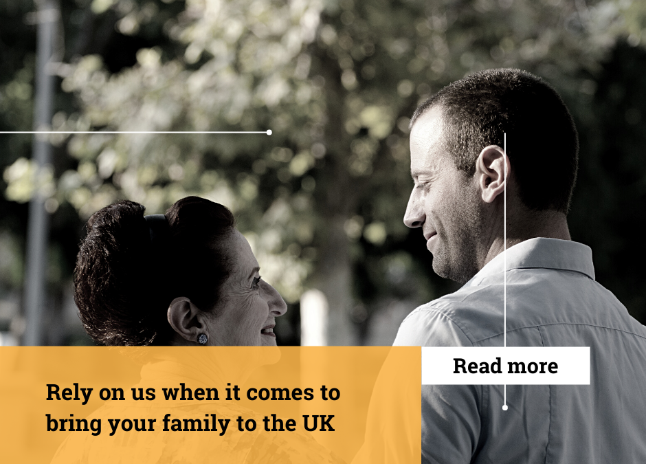Add family member to your British Settled Status
